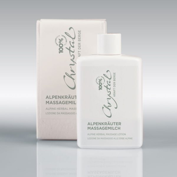 Chrystal Alpenkräuter-Massagemilch 125 ml