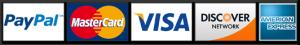 Zahlungsmöglichkeiten / PayPal / Kreditkarten
