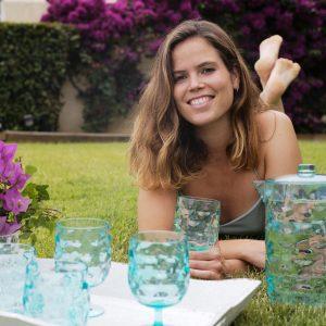 Marine Business Moon Acqua - Wasserkrug Wassergläser Weingläser - Frau