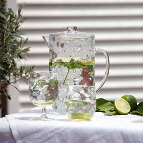 Marine Business Moon Ice - Wasserkrug Weinglas Wasserglas - Limetten