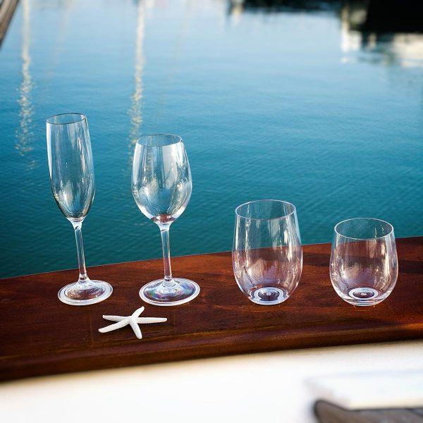 Marine Business Tritan Trinkgläser Sekt Wein Wasser