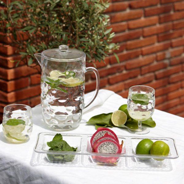 Marine Business Moon Ice - Wasserkrug Wasserglas Weinglas Snackschale